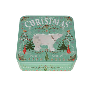 Farmhouse Christmas Polar Bear Tin 250g
