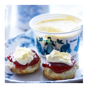 Set of 3 which includes Clotted Cream 113 grams, a bottle of Tiptree Strawberry Jam 340 grams and  Yorkshire Tea 20 sachets
