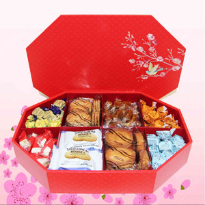 Eight Treasures (Ba Bao Box)- Assorted Chocolate and Biscuit Selections