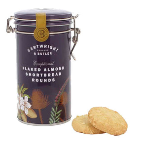 Shortbread in a beautiful gift tin.