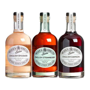 Tiptree English Rhubarb, English Strawberry, English Damsons Gin Liqueur 35cl Each