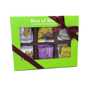 Best of British - Assorted English Biscuits & Scottish Shortbread 6 Twin Packs