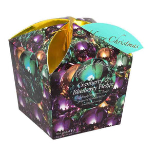 Gardiners Cranberry & Blueberry Christmas Carton (Baubles) 250g