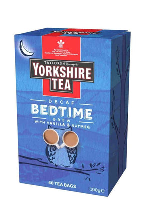 Yorkshire tea bedtime brew 40 tea bags in box