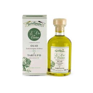 Tartuflanghe ORO IN CUCINA® Extra Virgin Olive Oil With Summer Truffle Slices 100ml