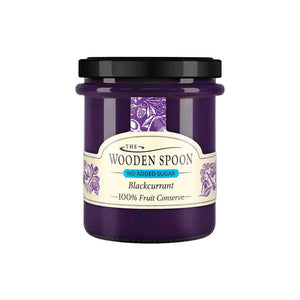 Wooden Spoon Blackcurrant High Fruit Spread No Added Sugar 227g