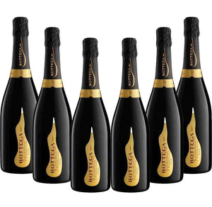 Bottega Prosecco DOC Spumante Brut 750ml x 6 Bottles