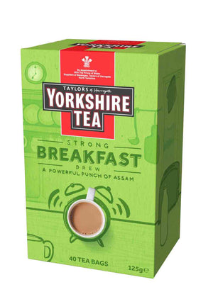 40 tea bags strong yorkshire breakfast tea