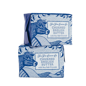 The Fine Cheese Co. Churned English Butter with Sea Salt Crystals 125g