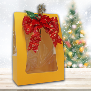 Gift Bag - Yellow Elegant Hamper Bag: For Customised Hamper/Gift Set