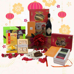 CNY Blooming Gold Chest Hamper