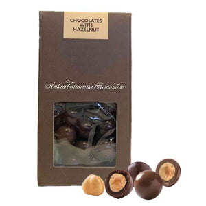 Antica Torroneria Piemontese Chocolate with Hazelnut Dragees 100g