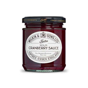 210-gram jar of Tiptree Wild Cranberry Sauce. Perfect for turkey