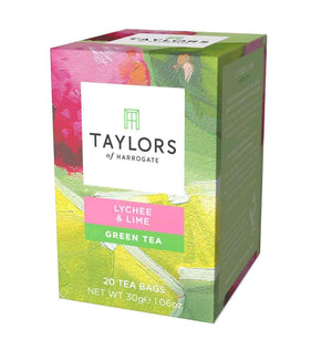 lychee and lime green tea Taylors of Harrogate