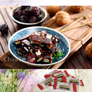 ChiaTe 佳德 Taiwan Jujube Red Dates Walnut Pastilles 350g