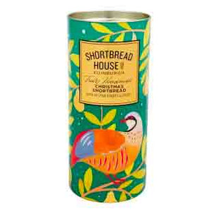 Shortbread House of Edinburgh Festive Fruits and Spices in Partridge Shortbread Drum 200g