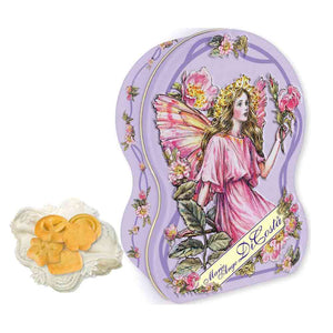 Gift Tin Christmas Gift Purple Colour
