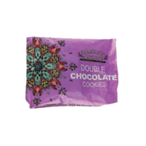 pack of 2 Farmhouse Biscuits double chocolate cookies in purple flowpack