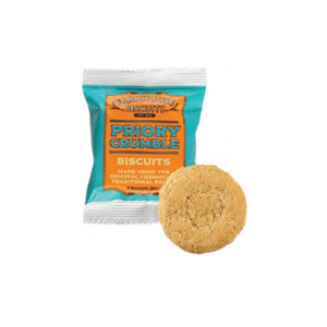 Farmhouse Biscuits Priory Crumble Biscuits Twin Pack 28g