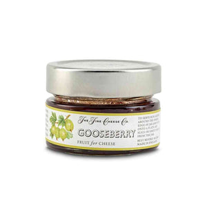 Gooseberry fruit puree for cheese