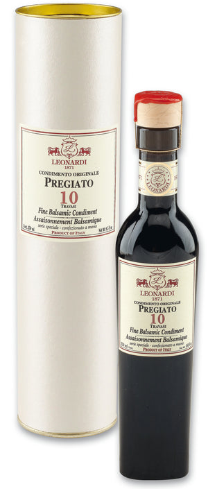 "Leonardi Balsamic Condiment - PREGIATO ""10 TRAVASI"" 250ml"