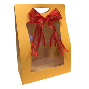 gold gift bag for personalised gift set