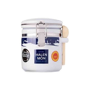 Halen Mon Pure White Sea Salt in Ceramic Jar 100g