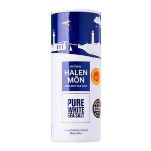 Halen Mon Pure White Sea Salt 250g