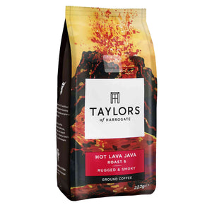 Taylor of Harrogate Hot Lava Java Ground Coffee 227g