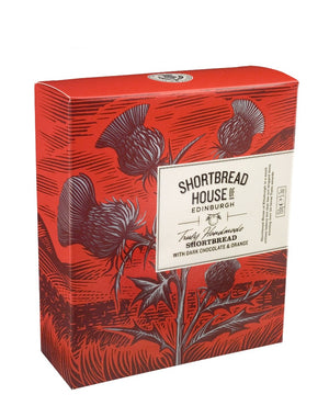 Shortbread House of Edinburgh Shortbread with Dark Chocolate & Orange 150g