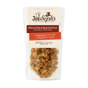 Joe & Seph's Maple Syrup & Roasted Pecan Popcorn 32g / 80g