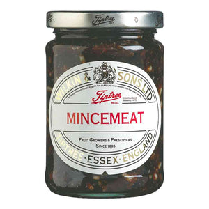 Tiptree's 312-gram jar of Mincemeat, ideal for mince pies or fillings for baked apples