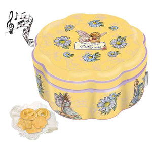 Gift for Christmas. Musical Tin Biscuit