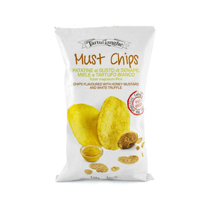 Tartuflanghe MUST CHIPS: Honey Mustard and White Truffle Chips 45g