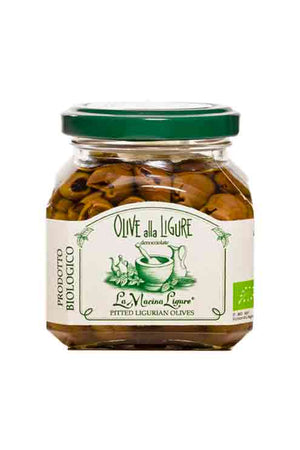 La Macina Ligure Organic Pitted Ligurian Olives