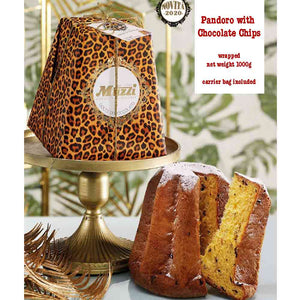 Pasticceria Muzzi Pandoro with Chocolate Chips 1000g available for online delivery in Singapore