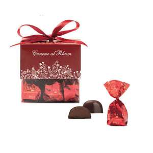 Antica Torroneria Piemontese Cunees with Rum Chocolate 180g