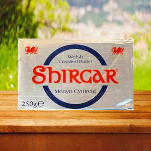 Shirgar Welsh Unsalted Butter 250g