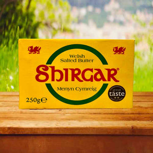 Shirgar Welsh Salted Butter 250g