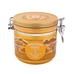 Shortbread House of Edinburgh Mini Shortbread with Sicilian Lemon in Canisters 240g