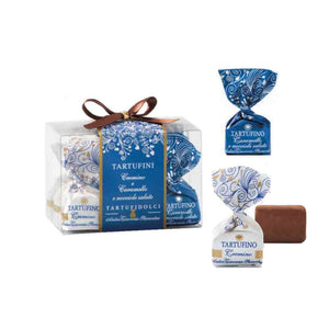 Antica Torroneria Piemontese Cremino and Salted Caramel Hazelnuts Truffles Combination Package 9 pcs