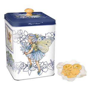 Di Costa Magical Square Embossed (Blue) Tin with Assorted Italian Pastries 150g