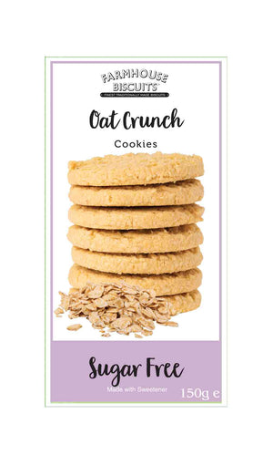 Farmhouse Biscuits Sugar-Free Oat Crunch Cookies 150g