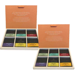 Taylor of Harrogate 2 Boxes of Assorted Tea Bag 4 Sachets x 6 Flavours