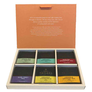 Taylor of Harrogate Box of Assorted Tea Bag 4 Sachets x 6 Flavours
