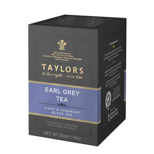 50 grams taylors of harrogate earl greay tea bags
