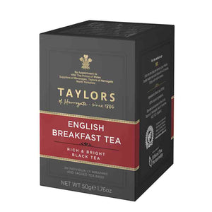 box of english breakfast tea 20 tea bags