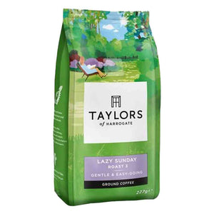 bag of ground coffee Roast 3 of Taylors of Harrogate Lazy Sunday