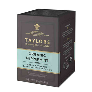 Taylors of Harrogate organic peppermint 20 tea bags
