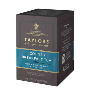 20 tea bags Scottish breakfast tea